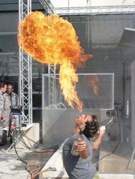 Fire-Eater at Bauma Munich